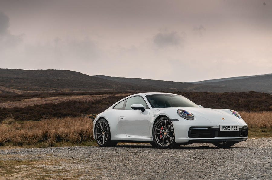Porsche 911 Carrera S 2019 road test review - static