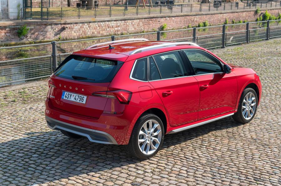 Skoda Kamiq 2019 road test review - static rear
