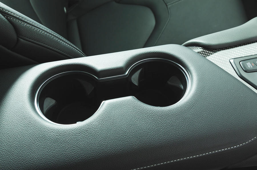 Toyota GR Supra 2019 road test review - cupholders