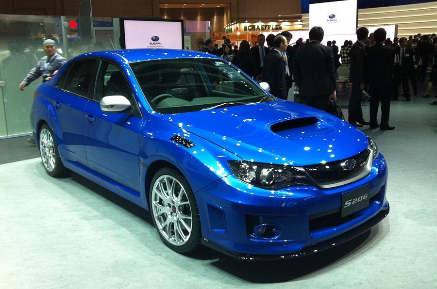 Tokyo Motor Show Subaru S206 Autocar