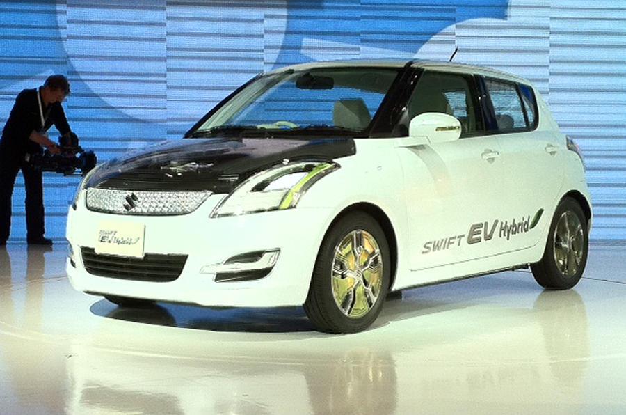 Tokyo show: Suzuki Swift EV