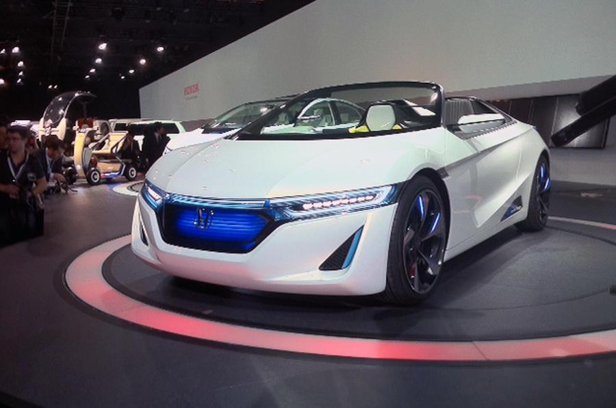 Tokyo show: Honda EV-STER