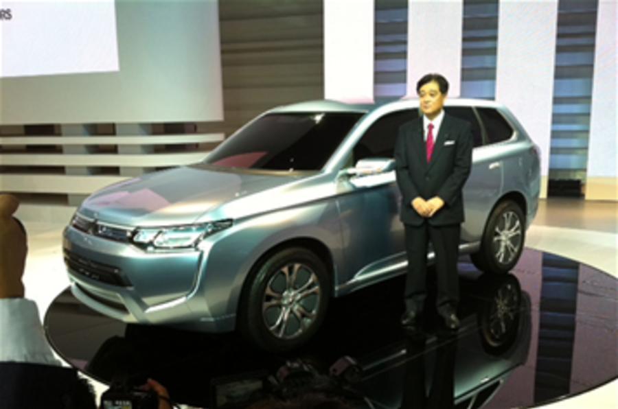 Mitsubishi boss sets CO2 target