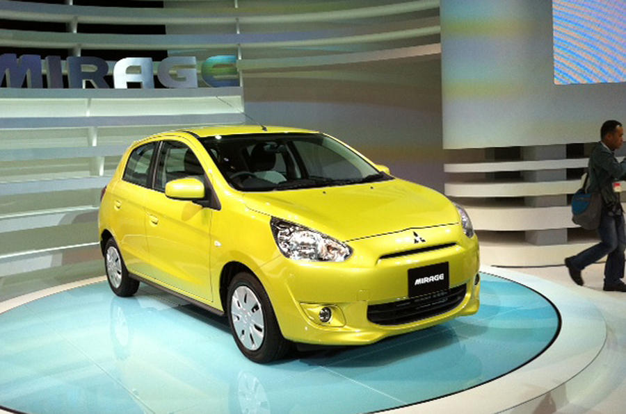 Mitsubishi Mirage launched in Thailand