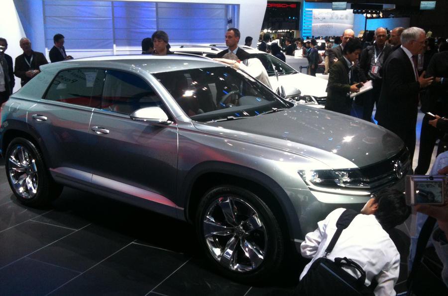 Tokyo show: VW Cross Coupé