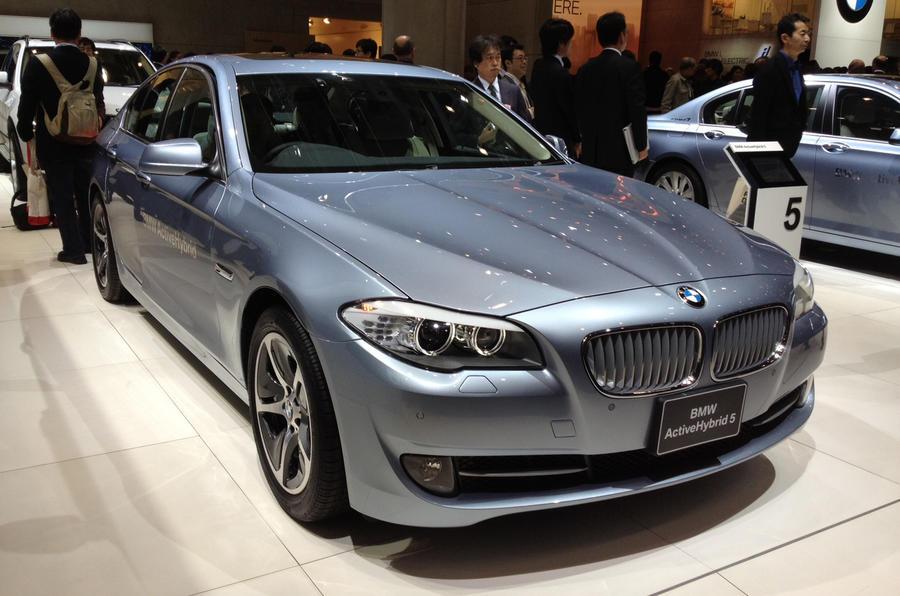 Tokyo show: BMW ActiveHybrid 5