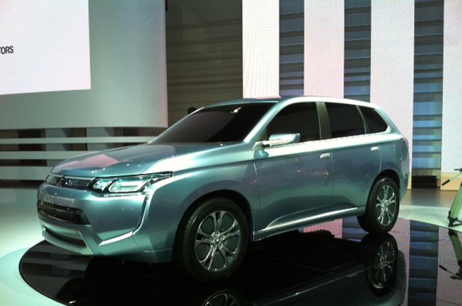 Tokyo show: Mitsubishi PX-MiEV II