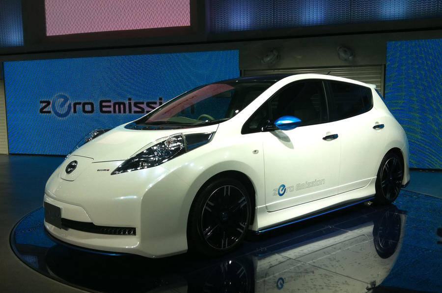Tokyo show: Nissan Leaf Nismo