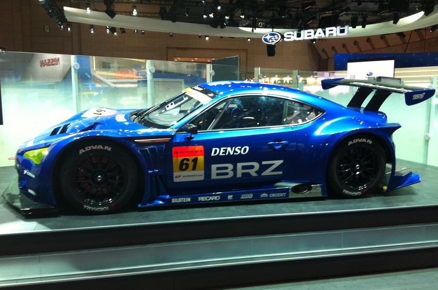 Tokyo show: Subaru BRZ racer
