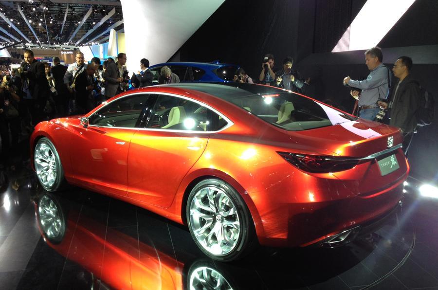 Geneva show 2012: Mazda Takeri