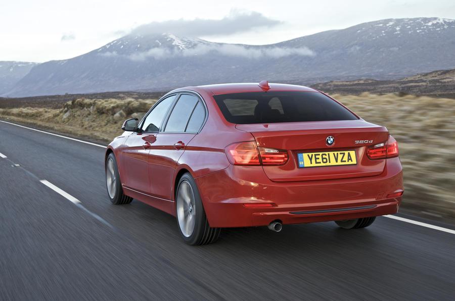BMW 320d Sport rear