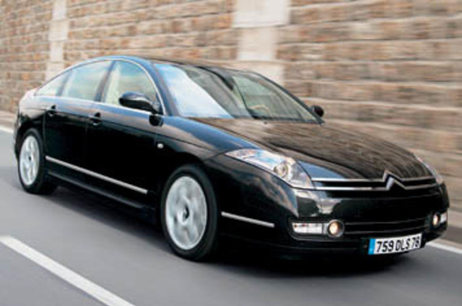 citroen c6 3 0 v6 review autocar. Black Bedroom Furniture Sets. Home Design Ideas