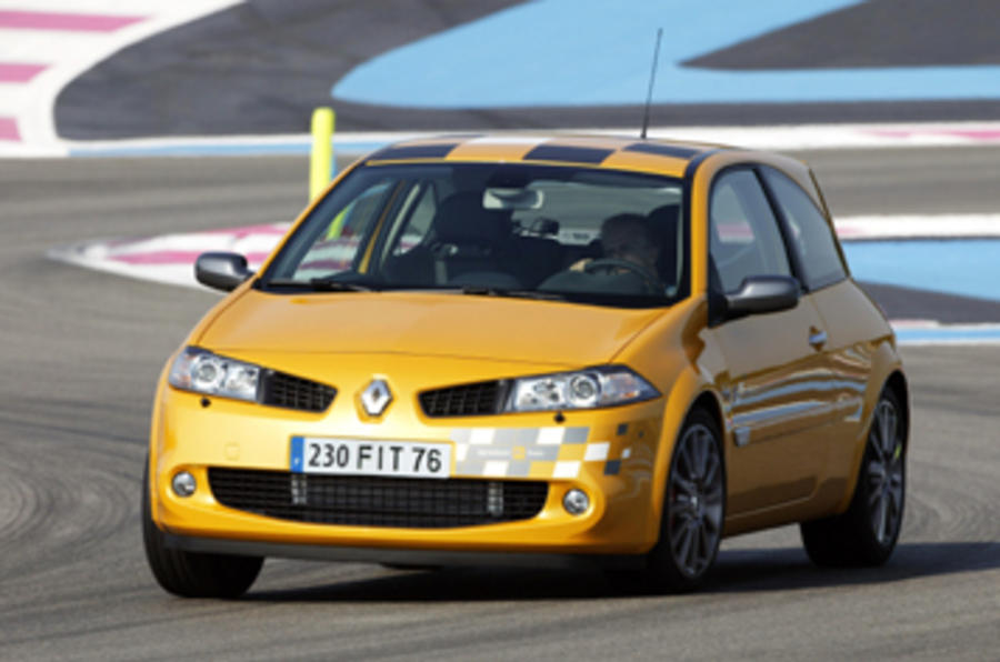 2002 renault m gane renaultsport 230 f1 team r26 review autocar. Black Bedroom Furniture Sets. Home Design Ideas