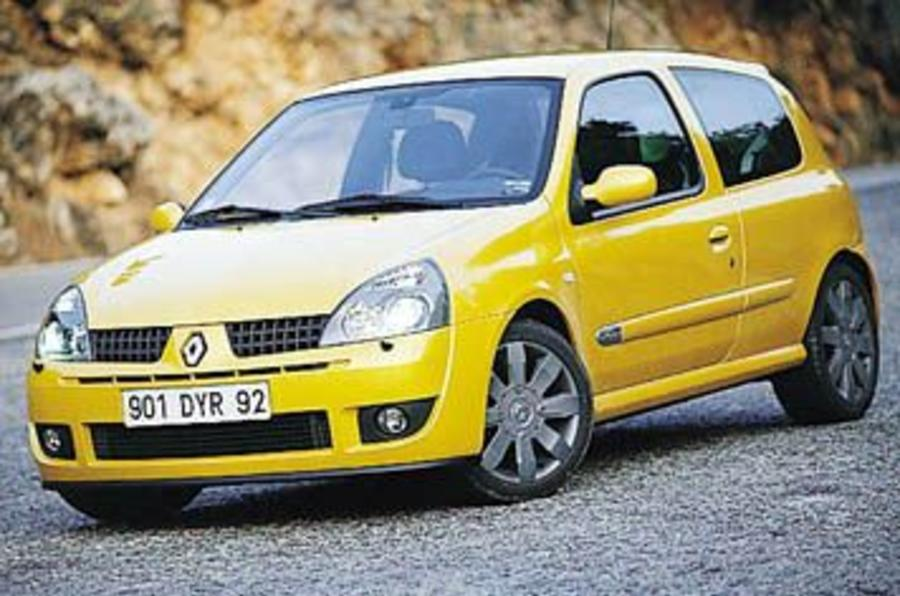 Renault clio cup 182