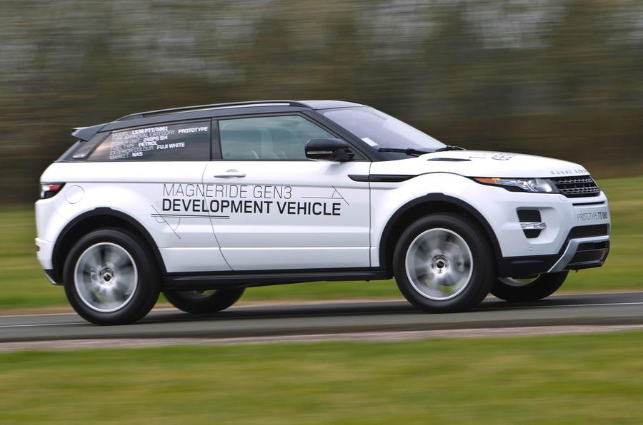 Range Rover Evoque side profile