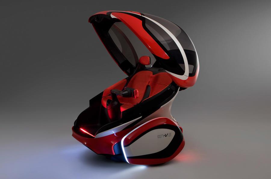 Trial for GM's futuristic pods