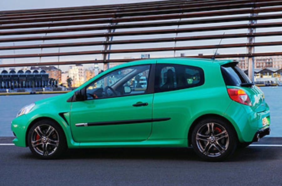 Renault Clio Renaultsport 200 Cup side profile