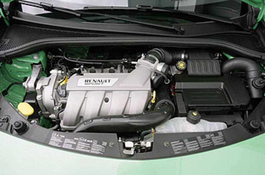 2.0-litre Renault Clio Renaultsport 200 Cup petrol engine