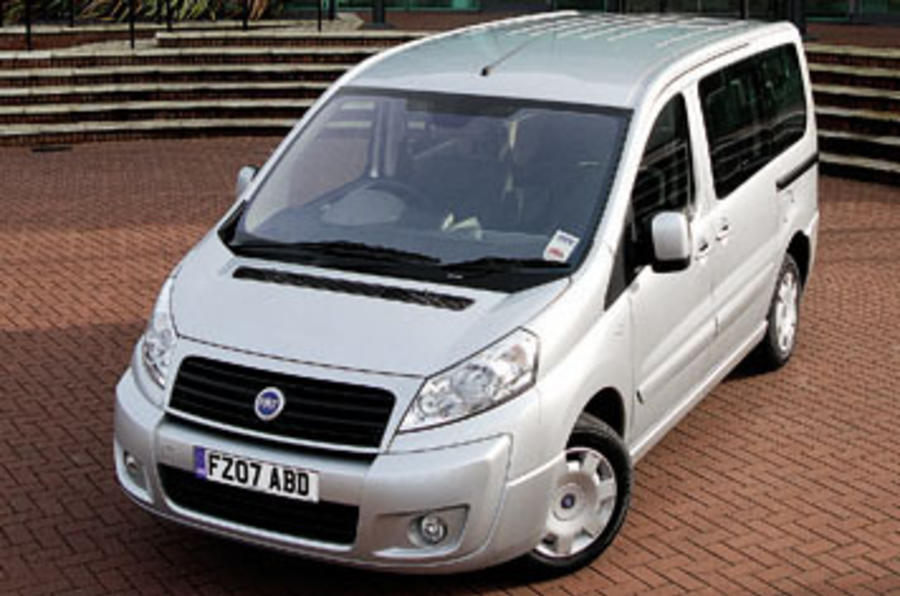 fiat scudo panorama review autocar. Black Bedroom Furniture Sets. Home Design Ideas