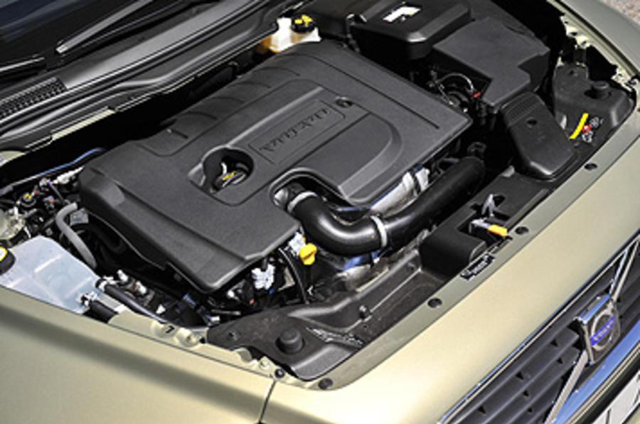 1.6-litre Volvo S40 diesel engine
