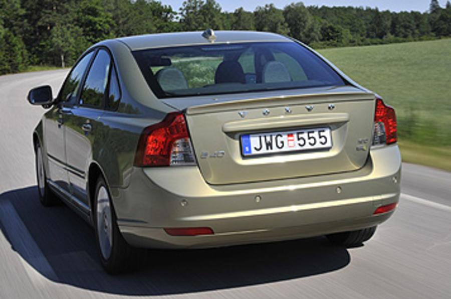 Volvo S40 rear