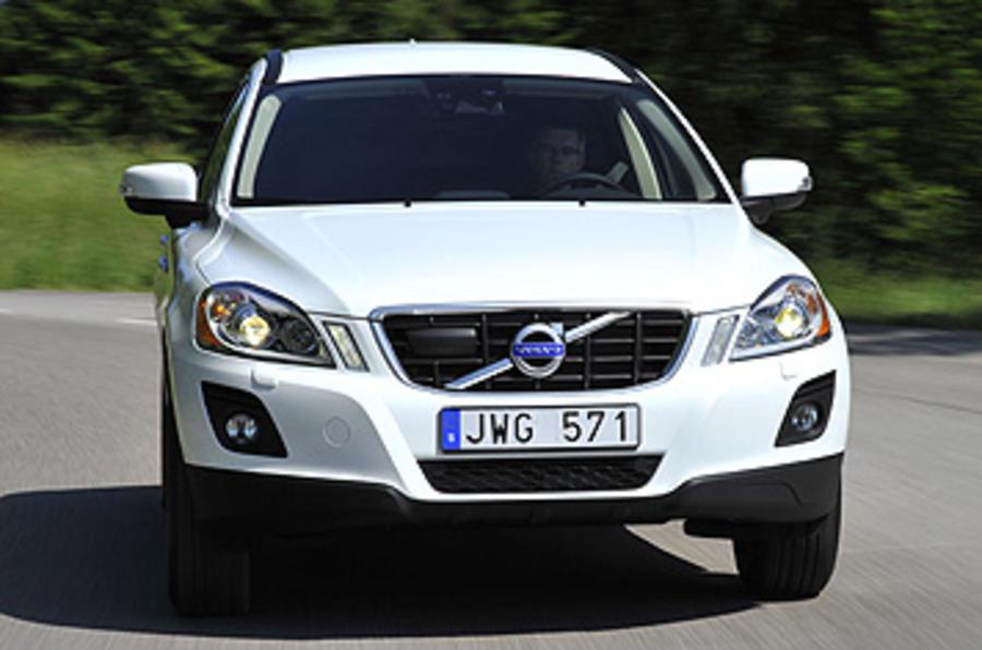 Volvo XC60 cornering