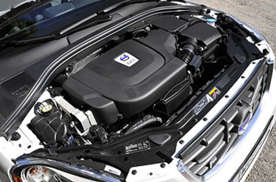 Volvo XC60 engine bay