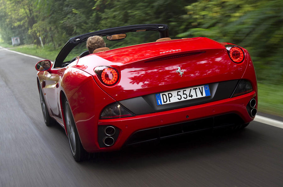 Ferrari California rear quarter