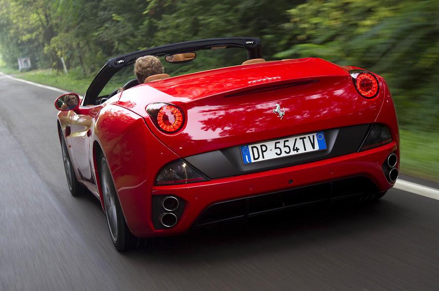 Ferrari California rear quarter