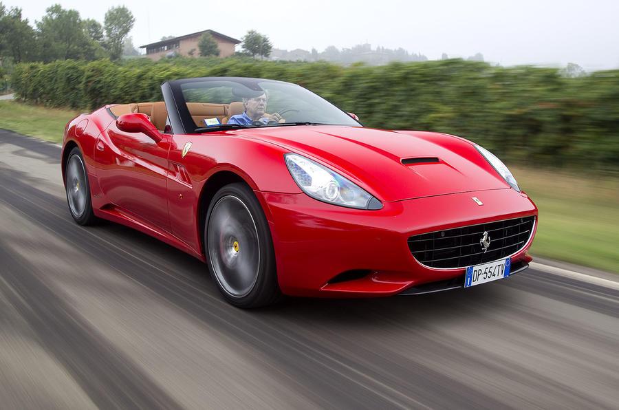Ferrari California stop-start