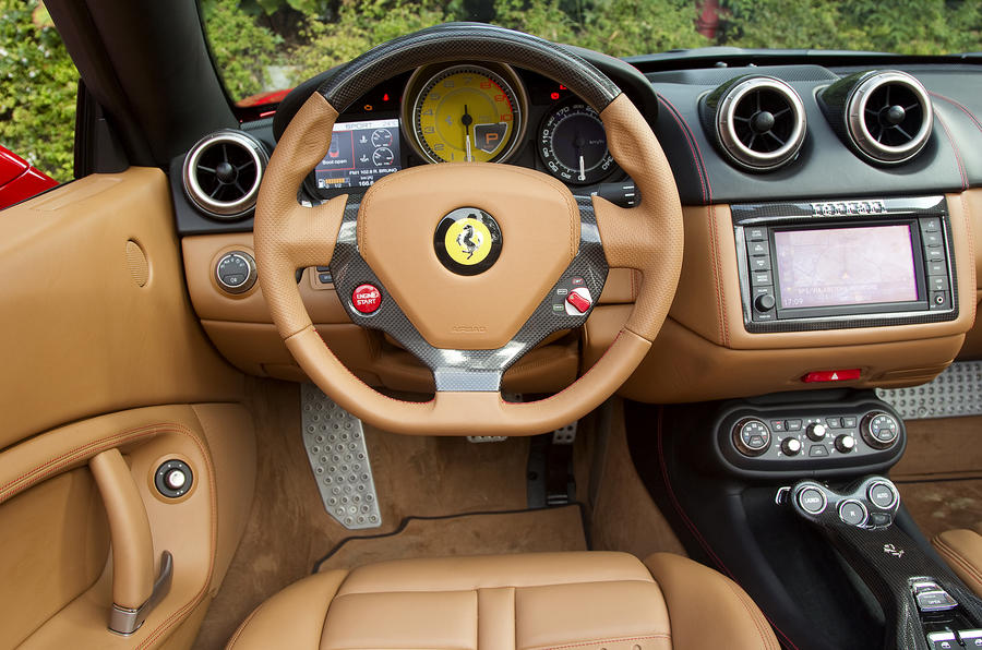 Ferrari California dashboard