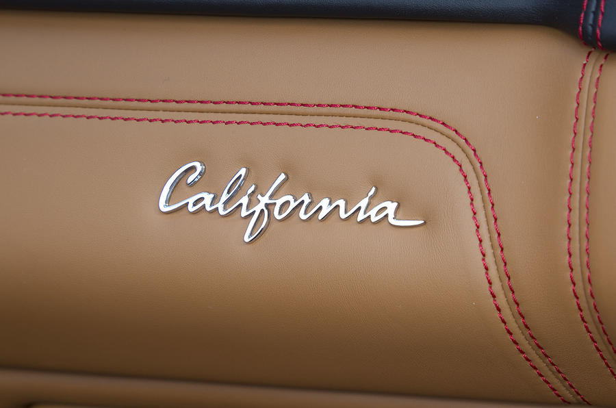 Ferrari California interior decals