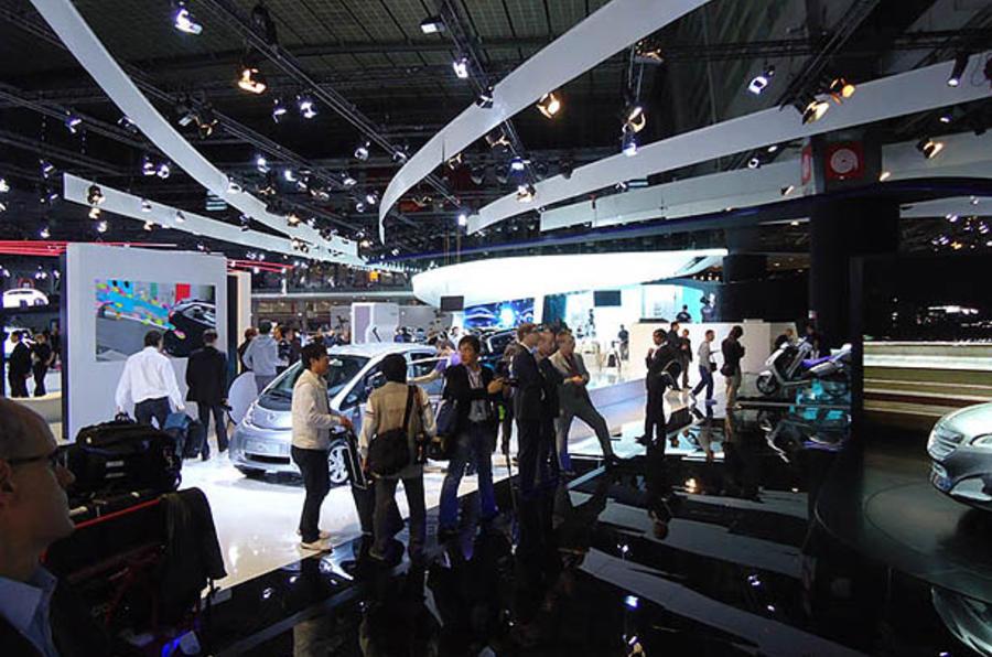Paris motor show report + pics
