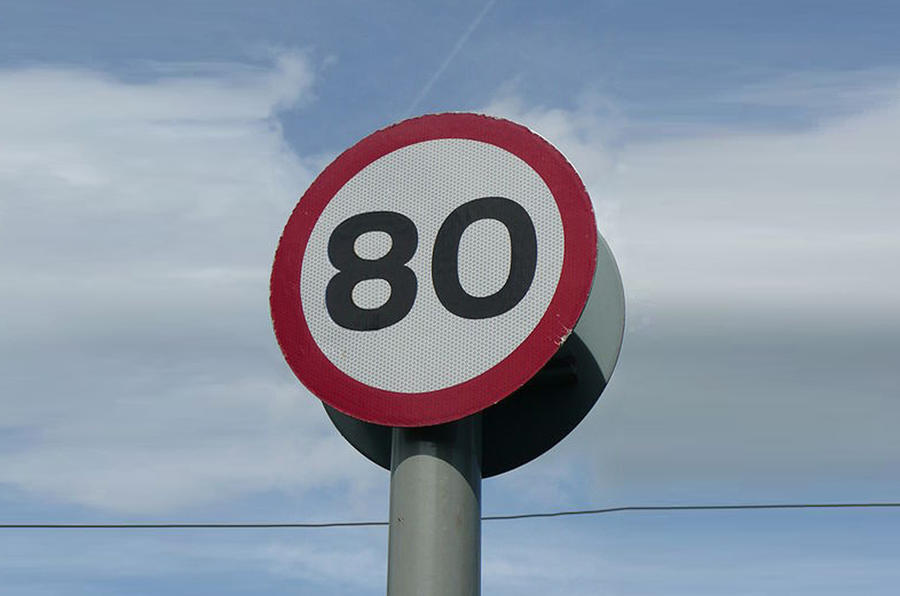 80mph limit 'for EVs only'