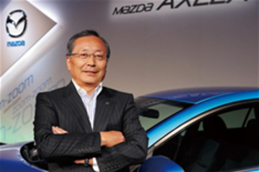 Q+A with Mazda's new president