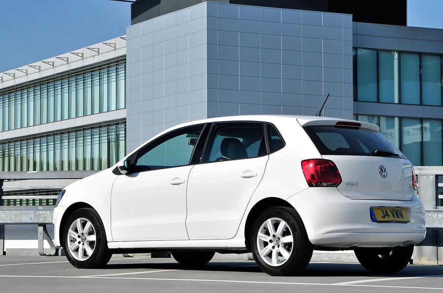 Volkswagen Polo rear quarter