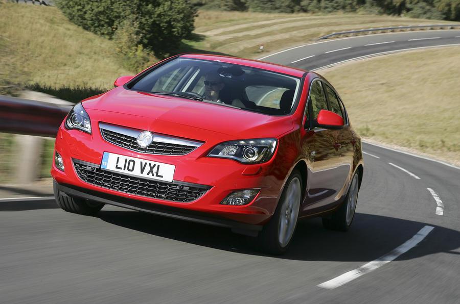 Vauxhall Astra 1.6i SRi