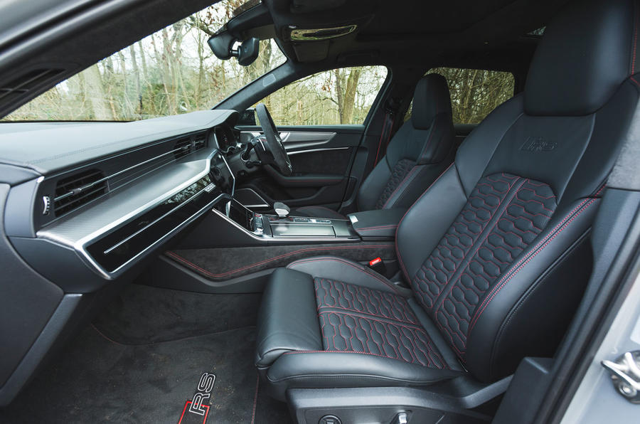 Audi RS6 Avant 2020 road test review - cabin