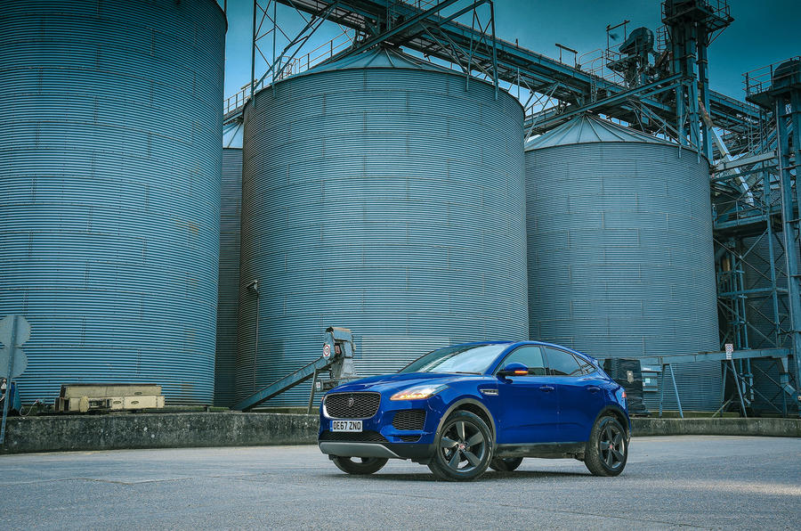 Jaguar E-Pace review static