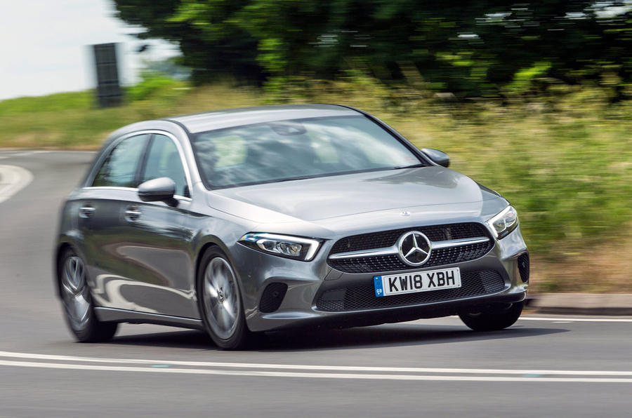 Mercedes-Benz A-Class 2018 road test review cornering