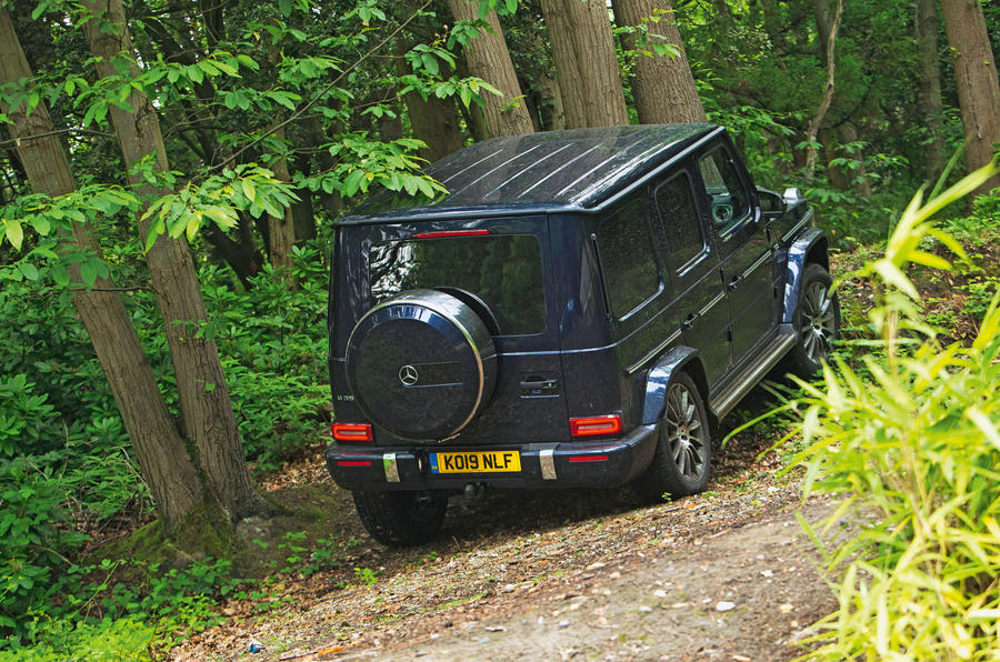 Mercedes-Benz G-Class 2019 road test review - hill ascent