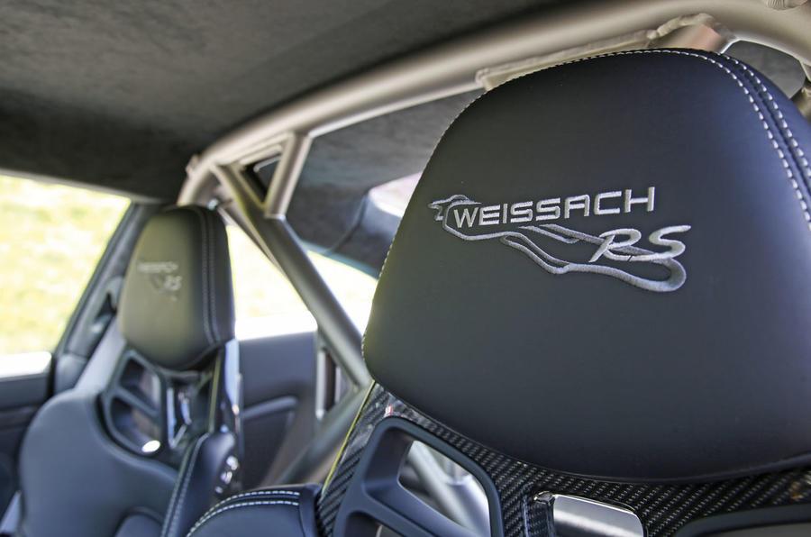 Porsche 911 GT2 RS 2018 road test review seat detail