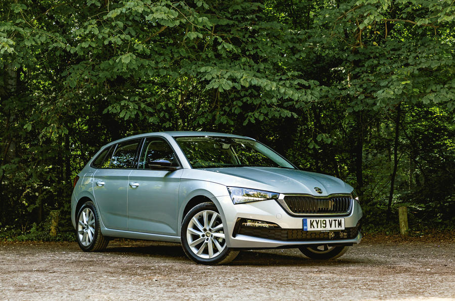 Skoda Scala 2019 road test review - static
