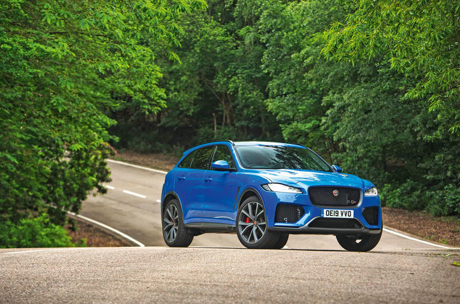 Jaguar F-Pace SVR 2019 road test review - static