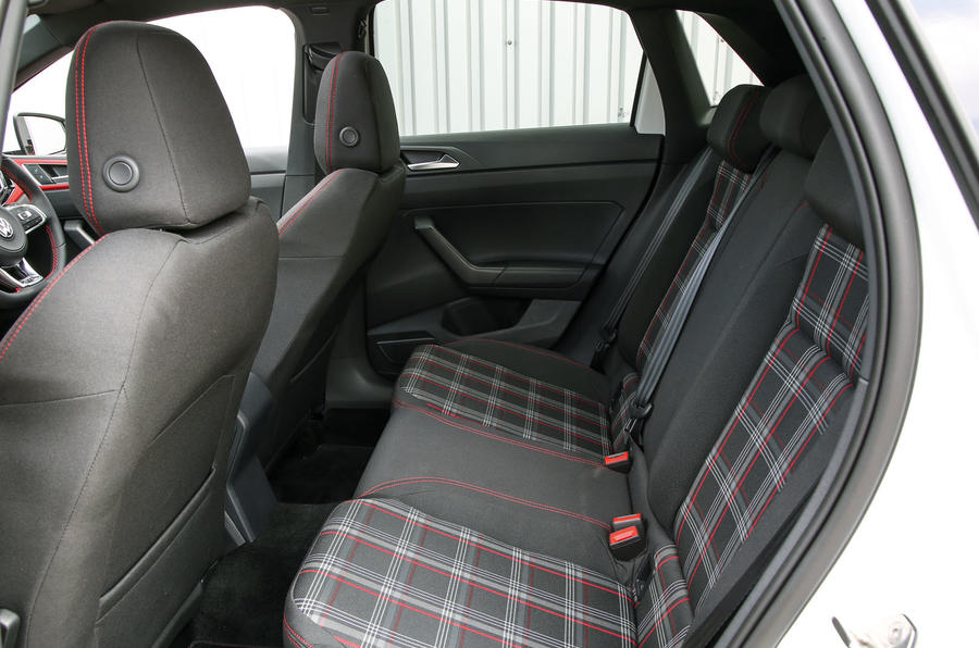 Volkswagen Polo GTI 2018 road test review rear seats