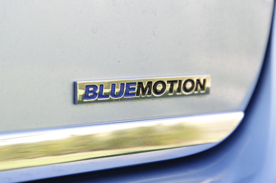 Volkswagen Passat Bluemotion badging
