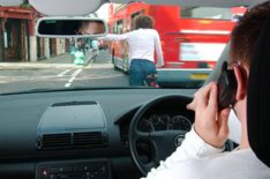 Drivers flout anti-mobile laws