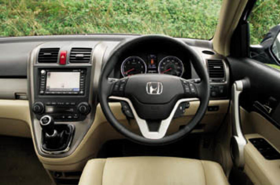 Honda Cr V 2 0 I Vtec Ex Review Autocar