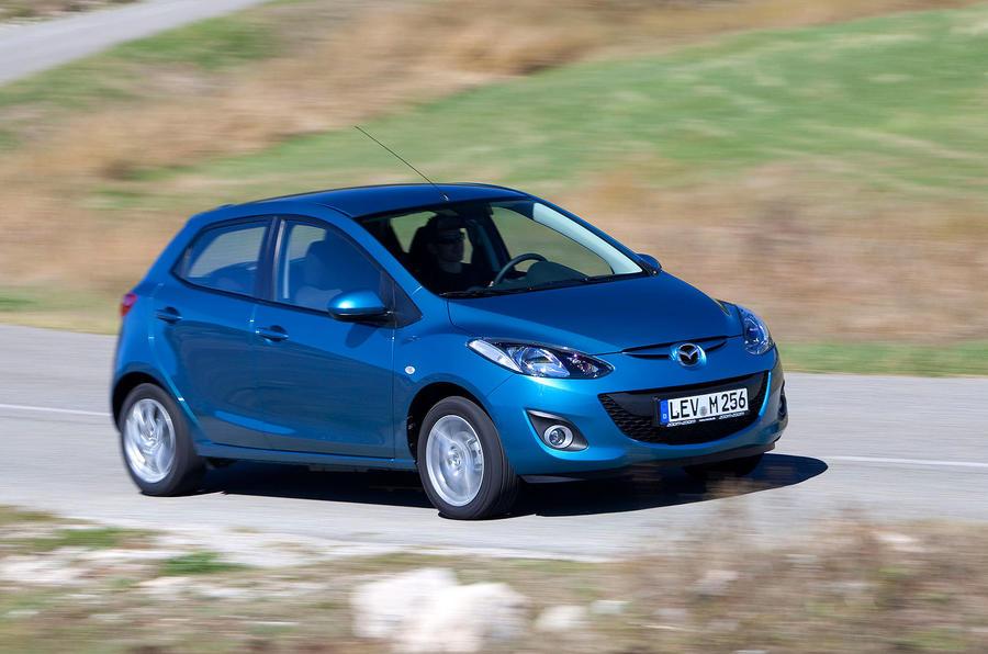 Mazda 2 1.5 TS2 front quarter