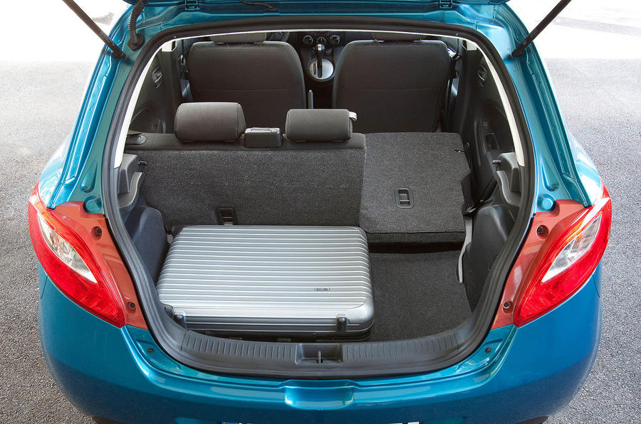 Mazda 2 seating flexibility